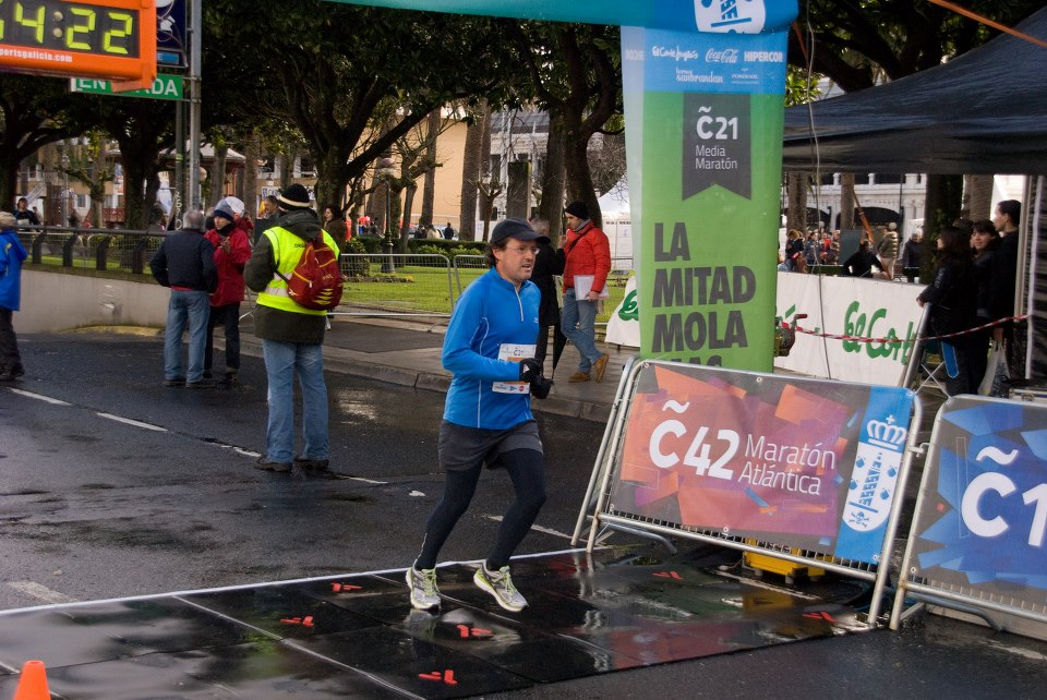 Mi primer medio maratón