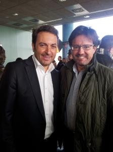 Con Albert Castillón