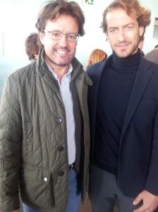 Con César Cabo