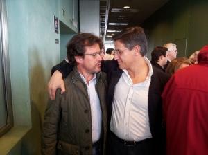 Con Luis Salvador